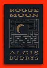 ALGIS BUDRYS *ROGUE MOON *MINT EASTON PRESS LEATHER *HUGO NOMINEE