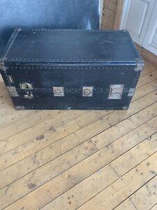 Antique Hartmann Steamer Wardrobe Trunk XL