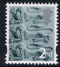 GB QEII MNH STAMP England SG EN6 2nd Class Three Lions Regional Definitive