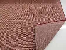 "Red/Pink & Grey ""Kentash""  Heavy Upholstery Fabric. By NEXT"