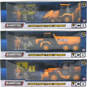 Teamsterz JCB Construction Series Vehicle, Figure & Accessory - CHOICE OF PACK