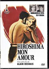 HIROSHIMA MON AMOUR de Alain Resnais. España tarifa plana envíos DVD, 5 €