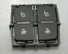 AUDI Q7 4M INTERRUTTORE PULSANTE RILASCIO dello schienale 4m0959861b ORIGINALE