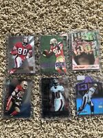 JERRY RICE FOOTBALL CARD LOT - 6 CARDS SAN FRANCISCO 49ers Hall Of Fame