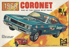 1968 MPC Coronet model box magnet - new!