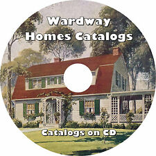 Wardway Homes (Vintage Mail Order Catalogs and Plans) Montgomery Ward  Book CD