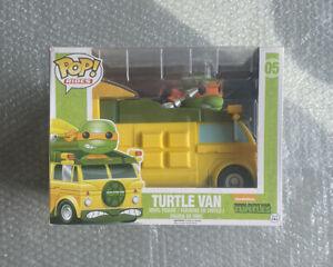 Funko Pop TMNT Turtle Van Pop Rides 5 New And Sealed