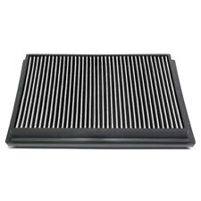 Fit 15-18 Toyota Hilux Revo/Fortuner Hi-Flow Drop-In Panel Dry Air Filter Silver