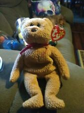 Curly the Bear TY Curly Beanie Baby Rare tag errors!! Vintage 1993 Pristine$$$$$
