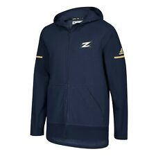 Akron Zips NCAA Adidas Men's 2018 Sideline Navy Blue Squad Full-Zip Jacket