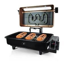 NutriChef Electric Grill Roaster Indoor & Outdoor Grilling Barbecue, Fish, Meat