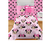 Minnie Mouse Room in a Box Set, Includes Bedding Set