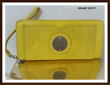 Mimco Leather Montage Wallet Clucth Purse Dust Bag W16