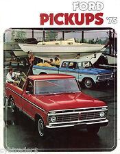 1975 Ford Pickup Truck Refrigerator Magnet