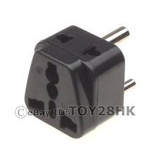 India/Sri Lanka Travel Adapter with 2 Outlet Convert World Plug to India Plug