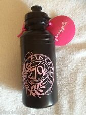 BNWT Pineapple Gym Dance Aerobics Drinks Black & Pink Plastic Water Bottle