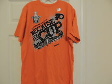 Nhl Reebok Philadelphia Flyers Playoffs Hockey Shirt New Small