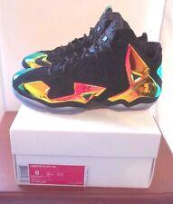 NEW Nike Lebron XI 11 EXT QS Kings Crown Jewel Size 8 677693-001 james pride wtl