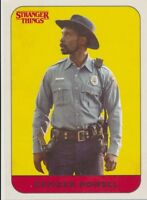 #15 OFFICER POWELL 2018 Topps Stranger Things Season 1 CHARACTER STICKER