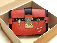 NWOT $3300 Louis Vuitton Red Epi Trunk Clutch