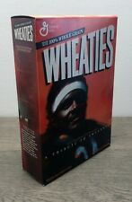 Vintage Wheaties Cereal w/ Walter Payton Sweetness 18 oz Full Box Factory Sealed