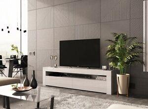 Modern 155cm TV Unit Cabinet Stand Matt body and High Gloss Doors