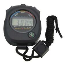 Digital Handheld Sports Stopwatch Stop Watch Timer-Alarm Counter T9F5 P2S6