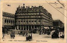CPA Paris 8e, Paris - Gare Saint-Lazare (362765)