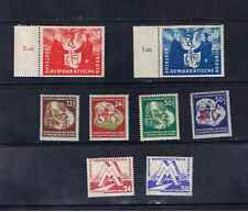 EAST GERMANY 1951 SETS