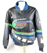 Jeff Hamilton Mens Jacket Bomber Racing Collection  Las Vegas Leather Large