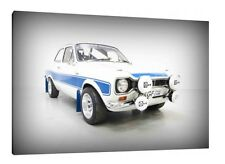 Mk1 Ford Escort AVO RS2000 - 30x20 Inch Canvas - Framed Picture Print Art