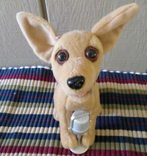Taco Bell Chihuahua Dog sings Chances Are - Clean - good Condition
