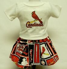 St Louis Cardinals Outfit (1) For 18 Inch Doll