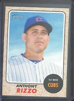 2017 Topps Heritage Color Variation #410 Anthony Rizzo