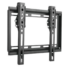 LED LCD Flat TV Monitor Wall Mount Tilt Bracket for 22 23 24 27 32 37 39 40 42""