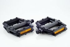 """[US SELLER] New """"Toe Strap Ready"""" Platform Bike Bicycle Pedal for Road MTB Fixie"""