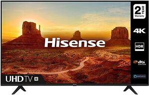 HISENSE 43A7100FTUK 43-inch 4K UHD HDR Smart TV with Freeview play, and Alexa Bu