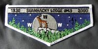 MERGED SUANHACKY OA LODGE 49 70 ANN GREATER NY QUEENS PATCH 4 24 82 SERVICE FLAP