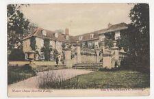 Wiltshire, Manor House, Moncton Farley 1907 Postcard, M017