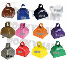 Assorted Cow Bell COWBELLS 3 Inches Noise Maker Parties You Choose Color RM1261