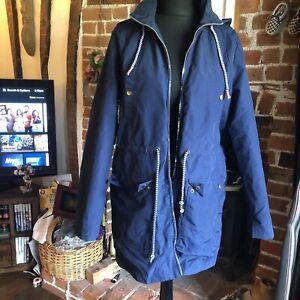 TU Navy Rain Coat Size 14 Nautical Sailing