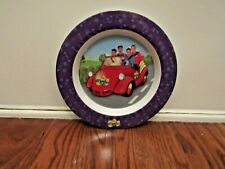 "The Wiggles Tv Show Dinner Plate - 8 1/2"" - 2002"