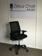 Steelcase Think New 3D Knit Version Back (V2) In Black With 4D Arms 20 Availabor