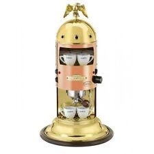 Elektra Mini Verticale A1 Espresso Machine Coffee Maker In Copper Amp Brass 110v