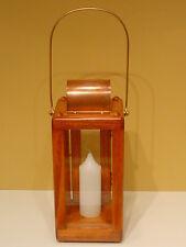 Candle Lantern ~ Royal Rangers ~ Brass & Copper Hardwear ~ Gun Stock New!