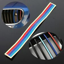 M-Colored Grill Vinyl Strip Sticker Decal For BMW M3 M5 E36 E39 E46 E60 E90 E92