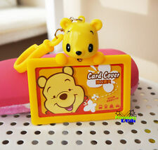 Cute Winnie the Pooh ID Credit Card ID Card Holder Room Card Luggage Tags
