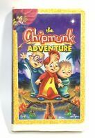 The Chipmunk Adventure VHS Clamshell Chipettes  With interactive CD ROM
