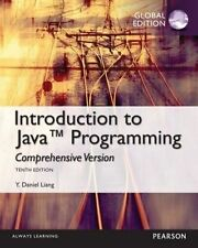 Intro to Java Programming, Comprehensive Version, Global Edition by Y. Daniel Liang (Mixed media product, 2014)