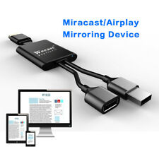Wecast Miracast DLNA Wired Multi Monitor Airplay Mirror Cable Fot HDTV Phone Tab
